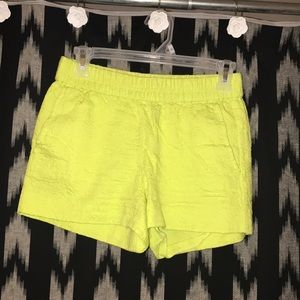 J.crew lime shorts Good Conditions 🛍💫